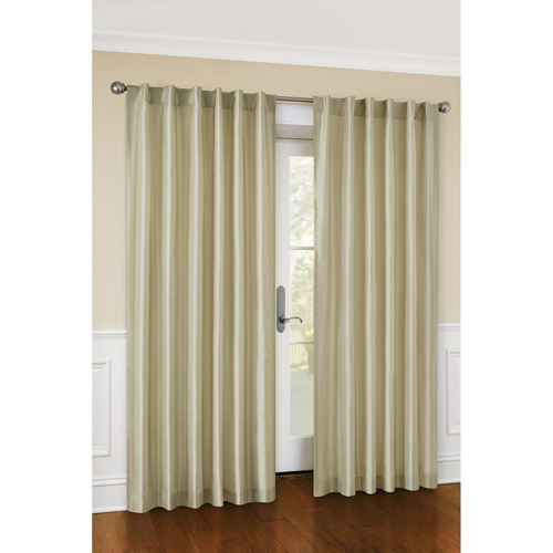 sc 1 st  Walmart : canopy faux silk curtains - afamca.org