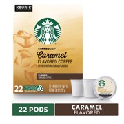 Starbucks Caramel Flavored Medium Roast Single Cup Coffee for Keurig Brewers 1 Box of 22 (22 Total K-Cup Pods)