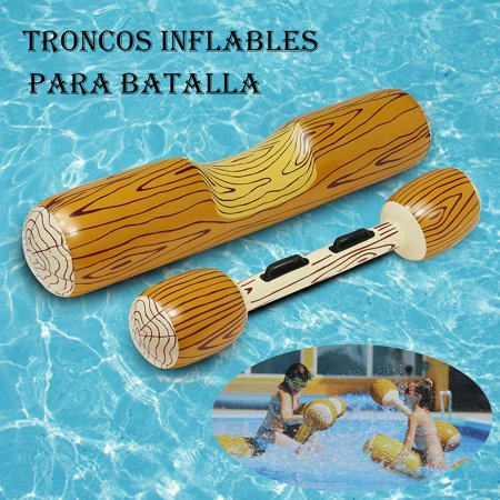 New Outdoor Log - Iuhan New Arrival Summer Outdoor Beach Pool Inflatable Double Beat Swim Log Stick Set