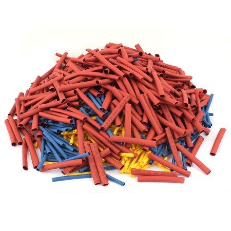 Shrink Wrap Kits - Unique Bargains 900Pcs 3mm/3.5mm/6mm 2:1 Heat Shrink Tube Sleeving Wrap Wire Kit 3 Sizes