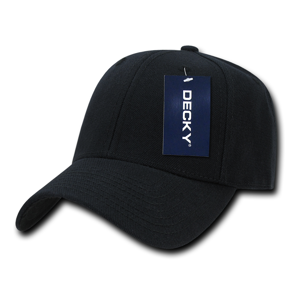 DECKY Low Crown Baseball Two Tone 6 Panel Hats Hat Caps ...