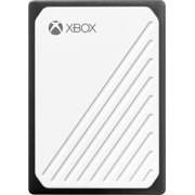 WD - Gaming Drive Accelerated for Xbox One 500GB External USB 3.0 Portable Solid State Drive - White With Black Trim