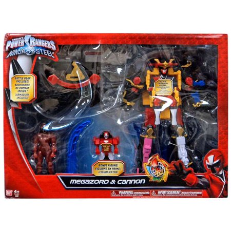 Power Rangers Ninja Steel Megazord & Cannon Action Figure