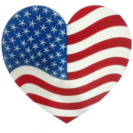 """VCS Heart American Flag, 27.5"""" - Walmart.com"""