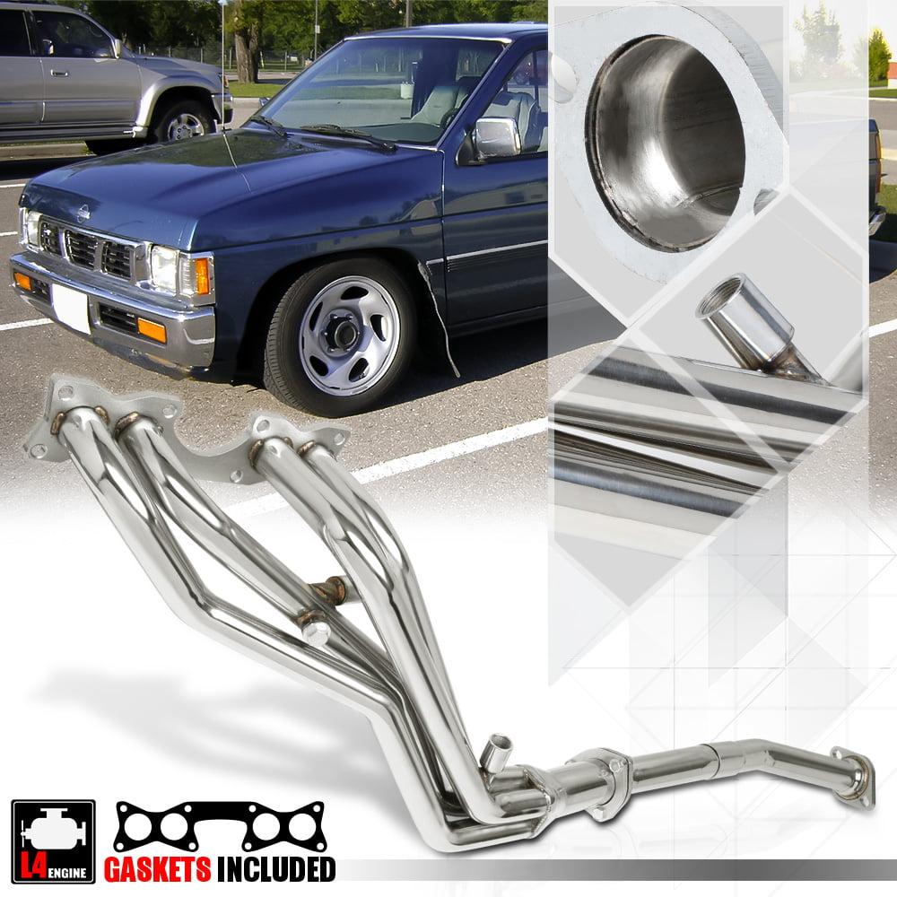 SS Full Length Exhaust Header Manifold for 90-95 Nissan D21/Pickup 2 4  KA24E 4WD 91 92 93 94