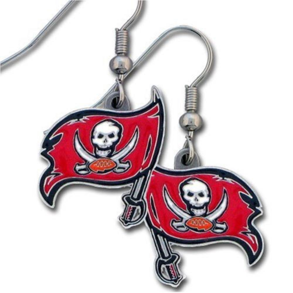 NFL Tampa Bay Buccaneers Dangle Earrings, Officially licensed NFL product Licensee: Siskiyou Buckle By Siskiyou Gifts Co Inc