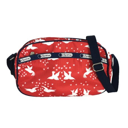 Lesportsac Classic Parker Crossbody Bag Love Birds Red