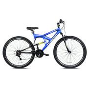 "Kent 29"" Flexor Men's Dual Suspension Mountain Bike, Blue"