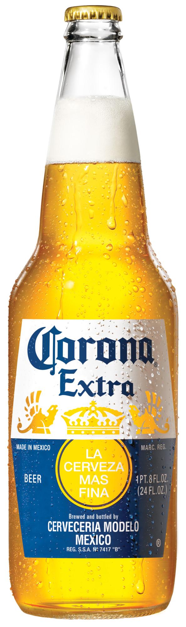 alcohol percentage in 24 oz corona extra