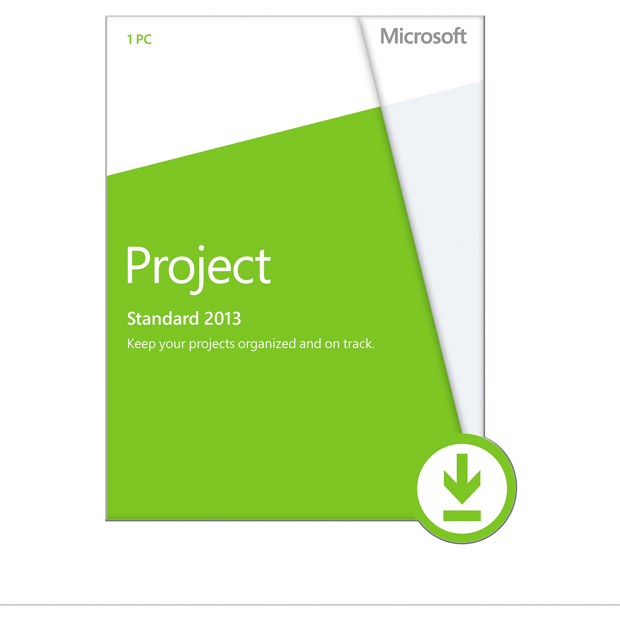 Microsoft Project 2013, 1 PC Download (Email Delivery)