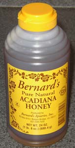 Bernardu0027s Pure Natural Acadiana Honey, 24.0 OZ
