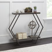 Adornments Modern Console Table with Shelf