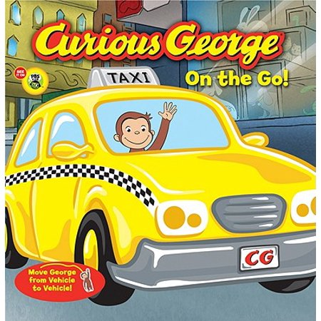 Curious George On The Go (Board Book) - Man In The Yellow Suit Curious George