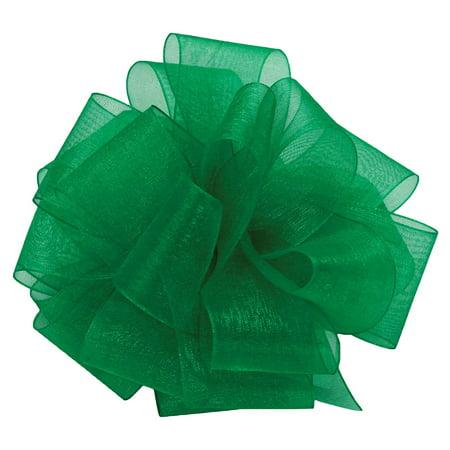 Asiana Sheer Ribbon (Offray Monofilament Edge Simply Sheer Asiana Craft Ribbon, 5/8-Inch Wide by 100-Yard Spool,)