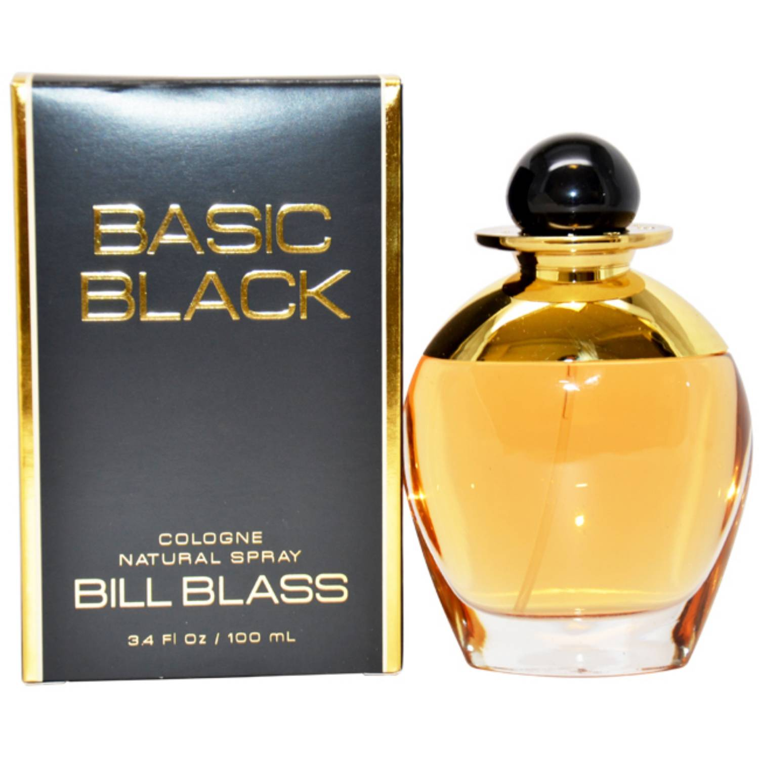 Bill Blass Basic Black for Women Cologne Spray, 3.4 oz
