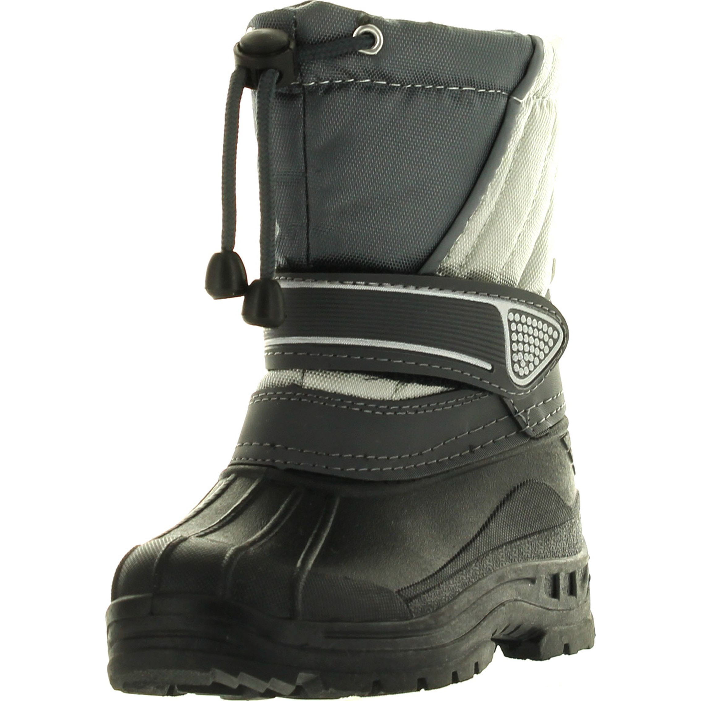Static Kids BHD-07 Waterproof Cold Weather Kids Snow Boots with Adjustable Feature by Static Footwear
