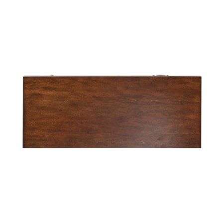 Liberty Furniture Chelsea Square Student Desk in Burnished Tobacco - image 9 of 10