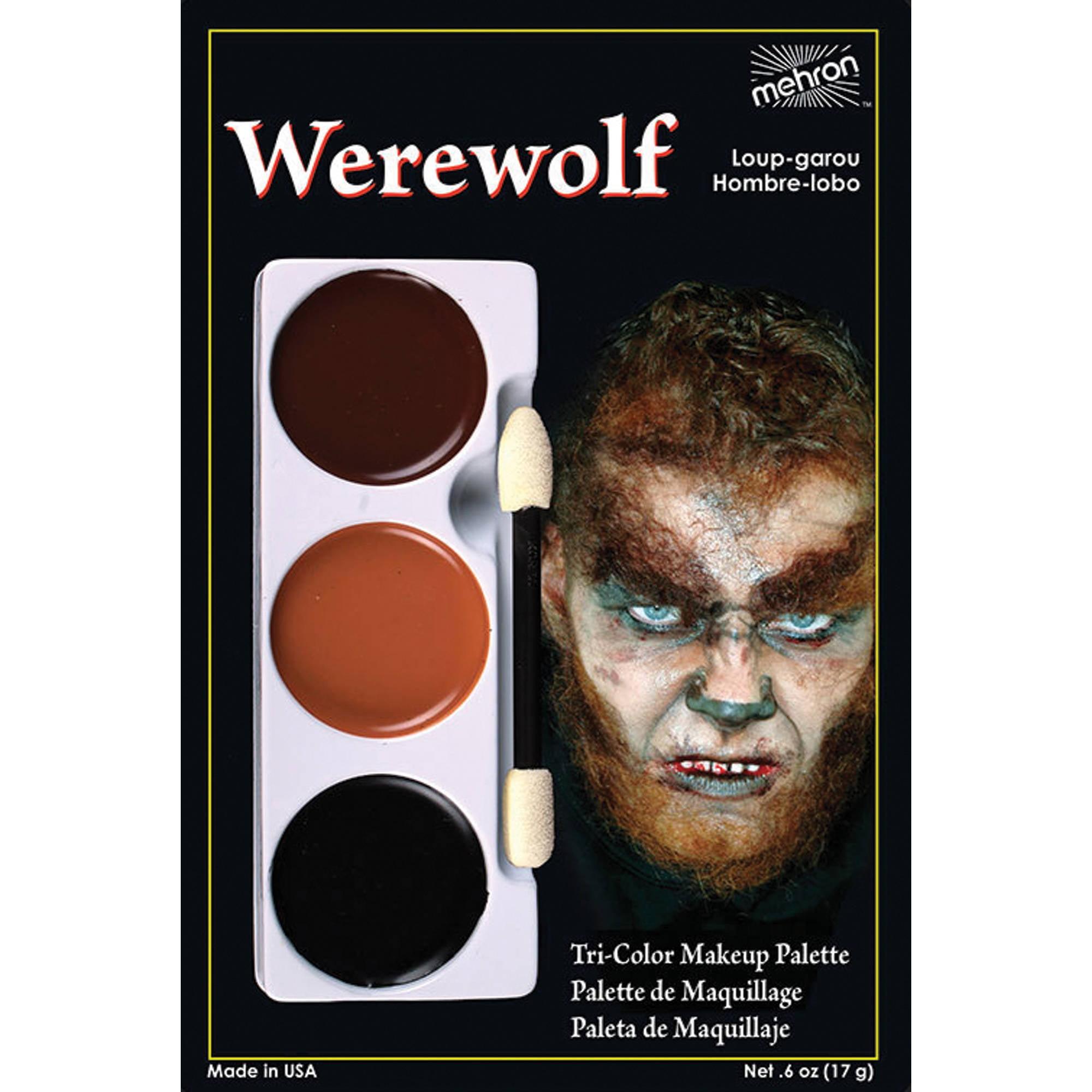 Tri Color Palette Adult Halloween Accessory