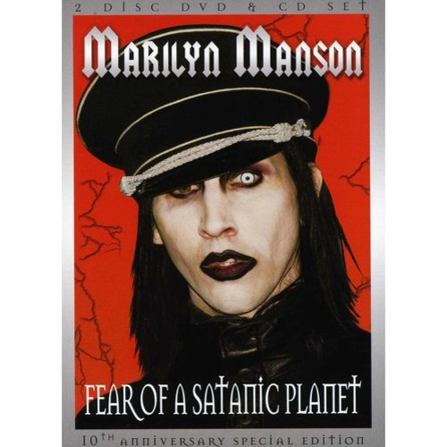 Marilyn Manson: Fear Of A Satanic Planet (DVD + CD)