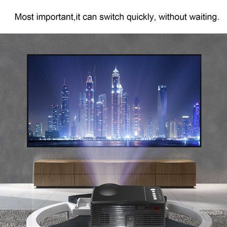 High Definition Led Projector Portable Family Cinema Home Theater Mini Beamer