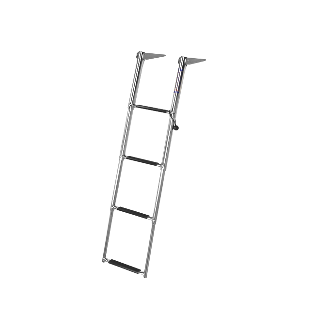 Recpro Marine Products 4 Step 10 304ss Telescoping Ladder