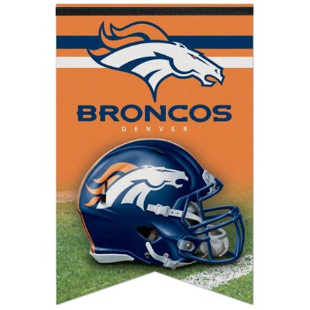 Denver Broncos 17 Quot X 26 Quot Banner Walmart Com