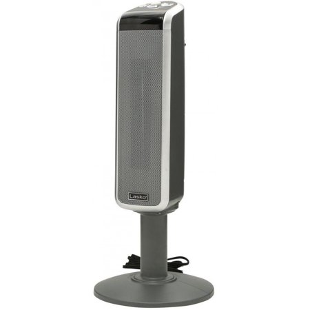 Lasko Portable 1500 Watt Digital Ceramic Tower Heater with Remote Control & Adjustable Thermostat