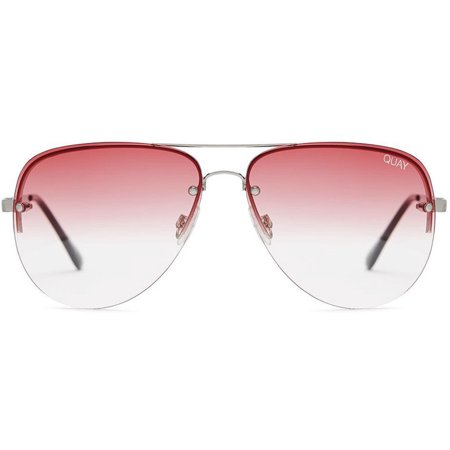 698808a80de Quay - Quay Australia Muse Gold   Red Mirrored Classic Aviator Sunnies  Sunglasses - Walmart.com
