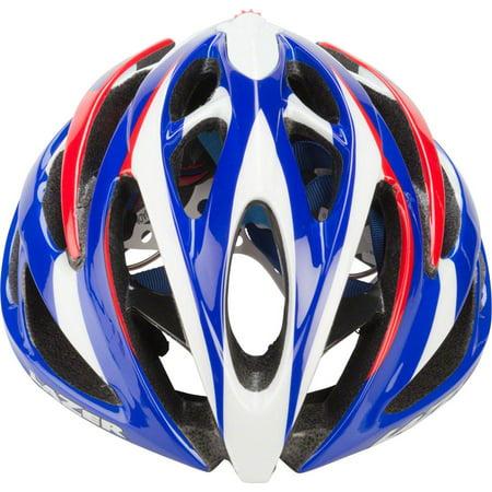 Lazer O2 Helmet: Red White and Blue SM