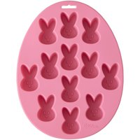 Wilton Easter Bunny Silicone Treat Mold, 12-cavity