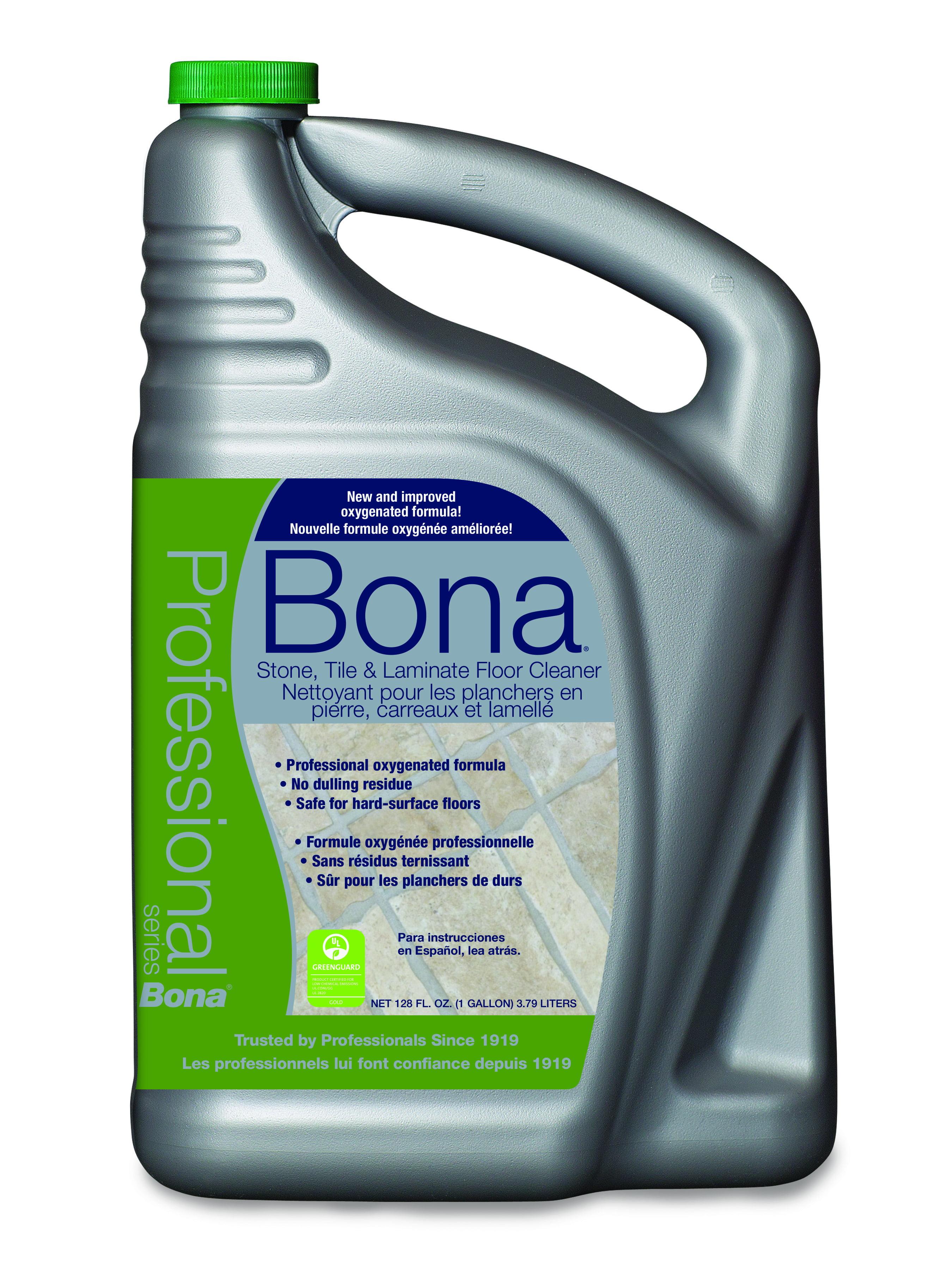 Bona Pro Series Stone, Tile & Laminate Floor Cleaner, 1 gal Refill Bottle