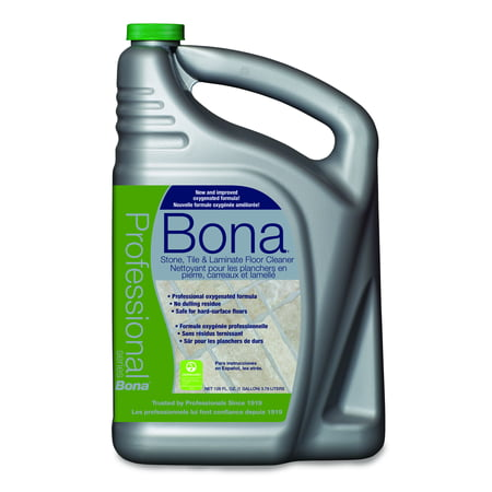 Bona Pro Series Stone, Tile & Laminate Floor Cleaner, 1 gal Refill Bottle