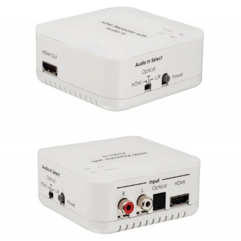 DVI HDMI Analog L/R RCA Stereo or Digital Optical Audio I...