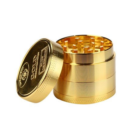 Metal Tobacco Herb Grinder - iLH New Tobacco Herb Spice Grinder Herbal Alloy Smoke Metal Crusher