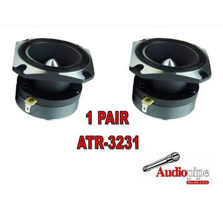 1 PAIR 350W Audopipe ATR-3231 Chrome 1