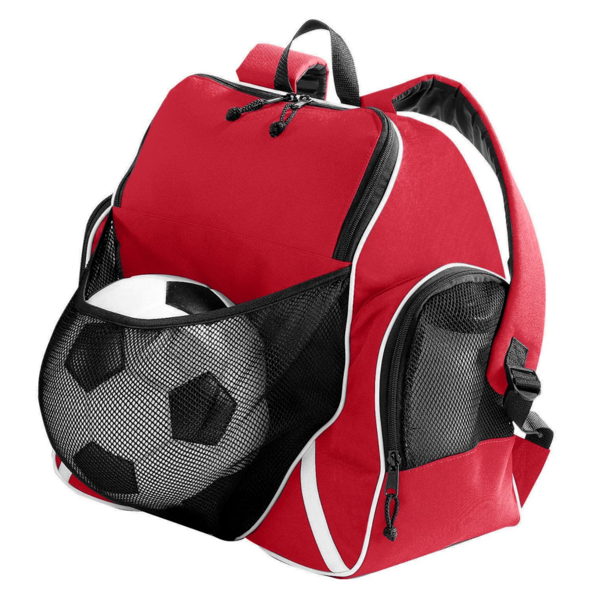 Augusta 1831 Tri-color Ball Backpack by Augusta Sportswear