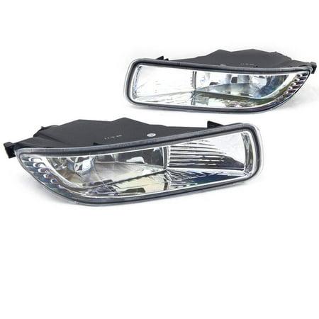 Fog Light For 03-04 Toyota Corolla Clear Lens, Pair