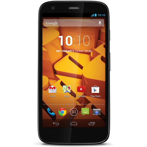 Boost Moto G Prepaid Smartphone with Optional Accessories
