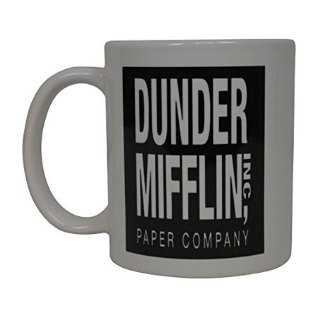 Dunder Mifflin The Office Funny Coffee Mug Sarcastic Novelty Cup Joke Great Gag Gift Idea For Men Women Office Work Adult Humor Employee Boss Coworkers