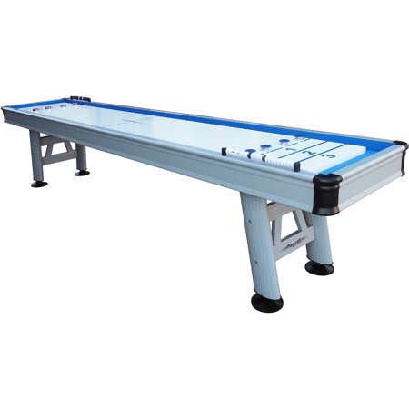 "Playcraft Extera 12' Outdoor Shuffleboard Table with 20"" Wide Playfield"