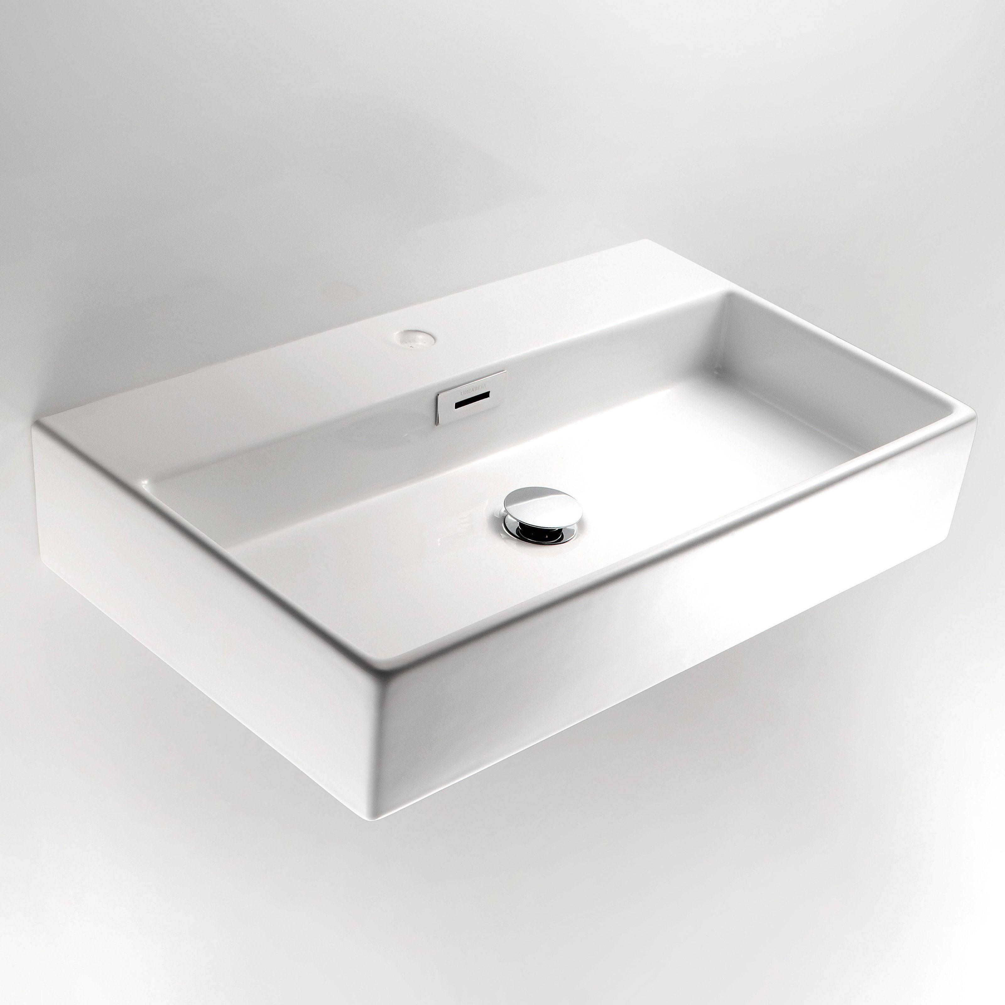 WS Bath Collections Quarelo 53709 Wall Mount Bathroom Sink