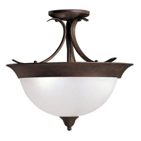 - Kichler Dover Ceiling Light - 15.5W in. Tannery Bronze
