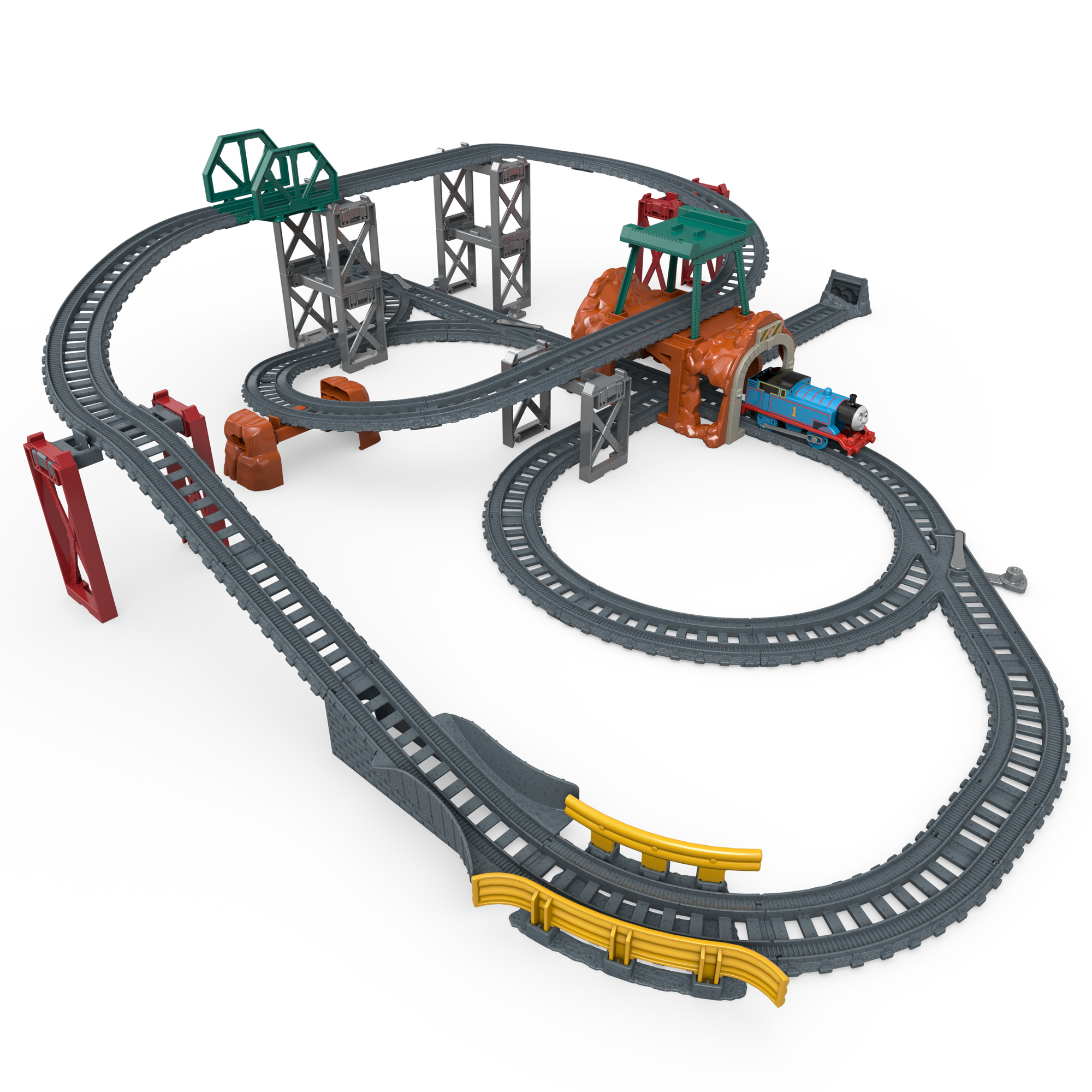 Thomas & Friends TrackMaster 5-in-1 Track Builder Set by FISHER PRICE