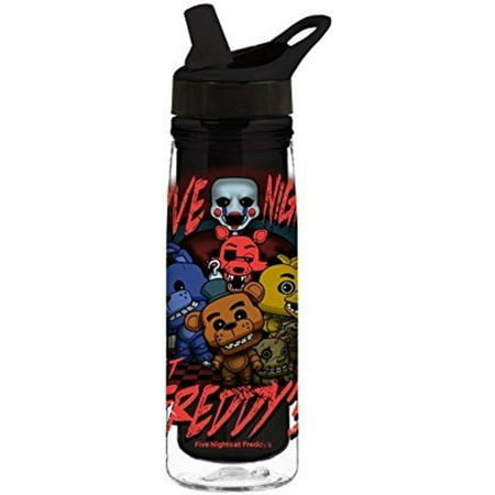 Final Halloween Horror Nights (FUNKO ACRYLIC WATER BOTTLE: FNAF - FIVE)
