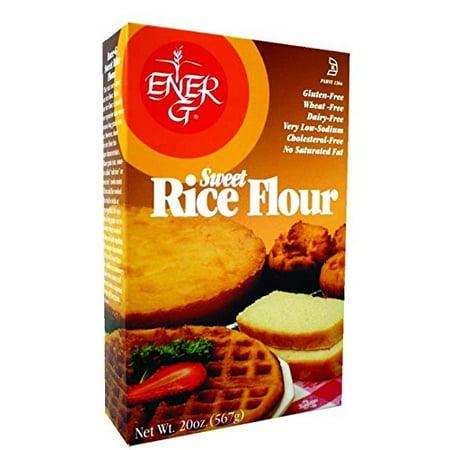 Ener-g Foods Gluten Free Sweet Rice Flour, 20