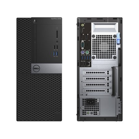 Dell OptiPlex 5040, Minitower, Intel Core i7-6700 up to 4.00 GHz, 12GB DDR3, NEW 500GB SSD, DVD-RW, Wi-Fi, USB to HDMI Adapter, NEW Keyboard + Mouse, Microsoft Windows 10 Pro 64-bit - image 1 of 3