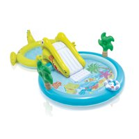 """Intex Gator Inflatable Swimming Pool with Water Sprayer, 127"""" x 69"""" x 29"""""""