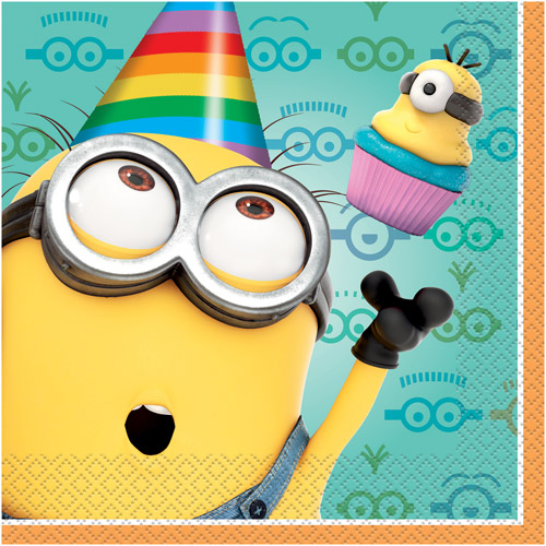 Despicable Me Luncheon Napkins, 16ct