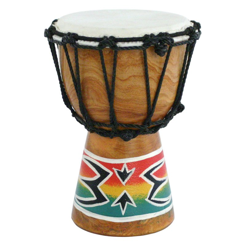X8 Drums Spark Painting Mini Djembe Drum