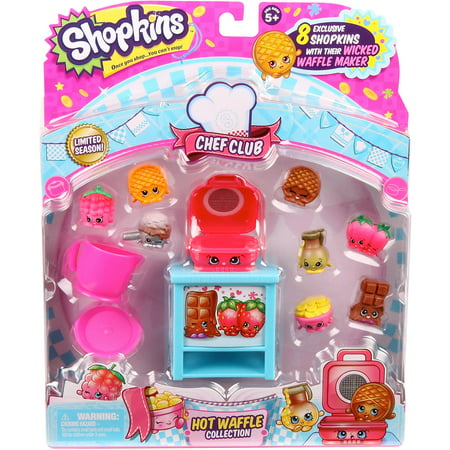 Shopkins Chef Club Hot Waffle.